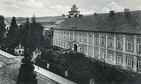 Zamek w Międzylesiu - Zamek w Międzylesiu na widokówce z lat 1910-1920