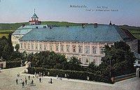 Zamek w Międzylesiu - Zamek w Międzylesiu na widokówce z 1907 roku
