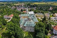 Zamek w Międzylesiu - Zdjęcie lotnicze, fot. ZeroJeden, VII 2019