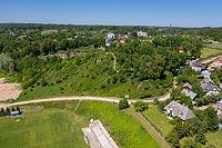 Zamek w Mielniku - Zdjęcie z lotu ptaka, fot. ZeroJeden, VI 2019