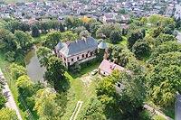 Modliszewice - Widok zamku z lotu ptaka, fot. ZeroJeden VIII 2018