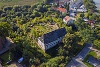 Zamek w Morągu - Zdjęcie lotnicze, fot. ZeroJeden, IX 2021