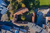 Zamek w Namysłowie - Zdjęcie lotnicze, fot. ZeroJeden, X 2019