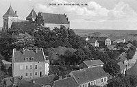 Zamek w Nidzicy - Zamek w Nidzicy w 1910 roku