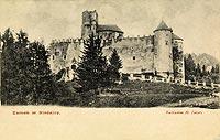 Zamek w Niedzicy - Zamek niedzicki w 1904 roku