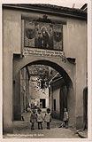 Zamek w Niemczy - Zamek w Niemczy na widokówce z lat 19025-1935