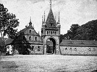 Zamek w Niemodlinie - Robert Weber, Schlesische Schlosser, 1909