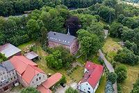 Nowa Ruda (Dwór Górny) - Zdjęcie lotnicze, fot. ZeroJeden, VII 2019