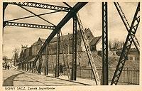 Zamek w Nowym Sączu - Zamek w Nowym Sączu na zdjęciu Stanisława Pennara z okresu międzywojennego