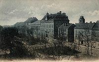 Zamek w Oławie - Zamek w Oławie w okresie międzywojennym