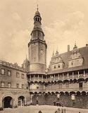 Zamek w Oleśnicy - Robert Weber, Schlesische Schlosser, 1909