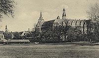 Zamek w Oleśnicy - Zamek w Oleśnicy w okresie międzywojennym