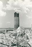 Olsztyn - Ruiny zamku w Olsztynie na zdjęciu Henryka Poddębskiego z 1932 roku