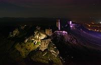 Zamek w Olsztynie - fot. ZeroJeden, XII 2020