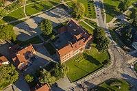 Zamek w Olsztynku - Zdjęcie lotnicze, fot. ZeroJeden, IX 2021