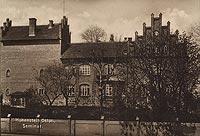 Zamek w Olsztynku - Zamek w okresie międzywojennym