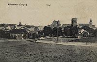 Zamek w Olsztynie - Olsztyn w 1914 roku