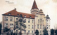 Zamek na Ostrówku w Opolu - Zamek na Ostrówku na zdjęciu z 1908 roku