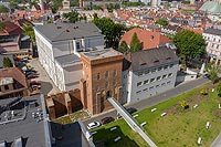 Zamek na Górce w Opolu - Zdjęcie z lotu ptaka, fot. ZeroJeden, V 2020