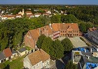 Zamek w Ornecie - Zdjęcie lotnicze, fot. ZeroJeden, IX 2021