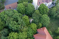 Zamek w Otmęcie - Zdjęcie z lotu ptaka, fot. ZeroJeden, V 2020