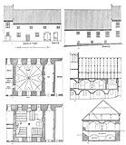 Zamek w Grabinach-Zameczku - Plany kaplicy zamku w Grabinach z 1907 roku