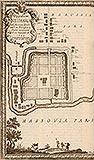 Zamek w Nowym Mieście Lubawskim - Plan miasta na sztychu Erika Dahlbergha z dzieła Samuela Pufendorfa 'De rebus a Carolo Gustavo gestis', 1656 rok