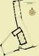 Zamek w Pokrzywnie - Plan zamku według R.Kunkela  [<a href=/bibl_ksiazka.php?idksiazki=173&wielkosc_okna=d onclick='ksiazka(173);return false;'>źródło</a>]