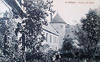Zamek w Pasłęku - Zamek w Pasłęku w 1923 roku