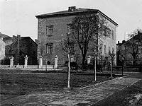 Piotrków Trybunalski - Zamek w Piotrkowie na zdjęciu A.Balda z okresu międzywojennego