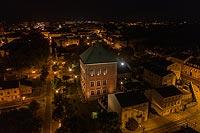 Zamek w Piotrkowie Trybunalskim - Zdjęcie lotnicze, fot. ZeroJeden, IX 2019
