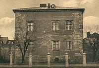 Zamek w Piotrkowie Trybunalskim - Zamek na widokówce z lat pięćdziesiątych XX wieku
