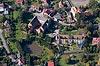 Zamek w Płakowicach - Widok z lotu ptaka od wschodu, fot. ZeroJeden, X 2013