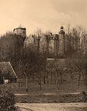Zamek Niesytno w Płoninie - Robert Weber, Schlesische Schlosser, 1909