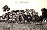 Zamek Rząsiny w Podskalu - Ruiny zamku Rząsiny w 1912 roku