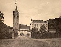 Zamek w Prochowicach - Robert Weber, Schlesische Schlosser, 1909