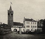 Zamek w Prochowicach - Zamek w Prochowicach w początkach XX wieku