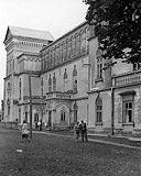 Dwór w Przecławiu - Dwór w Przecławiu na fotografii z przełomu XIX i XX wieku