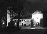Zamek Kazimierzowski w Przemyślu - Zamek w Przemyślu na zdjęciu z 1936 roku