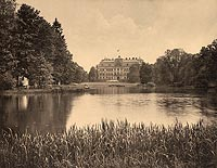 Zamek w Pszczynie - Robert Weber, Schlesische Schlosser, 1909