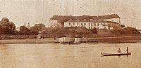 Zamek w Pułtusku - Zamek na widokówce z 1905 roku