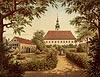 Zamek w Bobolicach - Litografia O.Dresslera z połowy XIX wieku z teki Alberta Dunckera