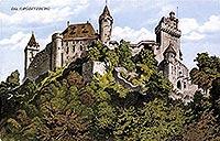 Grodziec - Grodziec na pocztówce z okresu międzywojennego