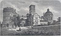 Zamek w Krasiczynie - Drzeworyt M.Kluczewskiego, Kłosy 392, 1873