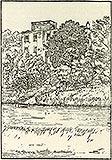 Zamek w Płotach - Zamek w Płotach na rysunku z przełomu XIX i XX wieku