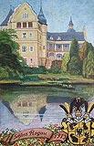 Zamek w Rogowie Sobóckim - Zamek w Rogowie w 1913 roku