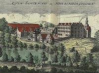 Zamek w Starej Kraśnicy - Fryderyk Bernard Wernher, Topografia Śląska 1744-1768