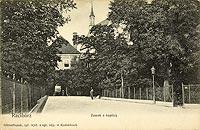Zamek w Raciborzu - Zamek w Raciborzu na pocztówce z 1903 roku