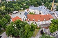 Zamek w Raciborzu - Zdjęcie lotnicze, fot. ZeroJeden, VI 2019