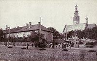 Zamek w Radomiu - Zamek radomski na zdjęciu B.Wolskiego z lat 1910-22